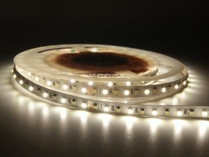 White Adjustable SMD 3528 Flexible LED Strip, 120 LED/M, 12V/24V DC