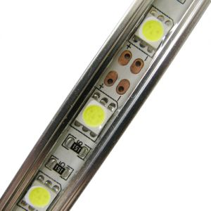 7.2 Watt 20 Inch Waterproof SMD 5050 Rigid LED Light bar 30 LEDs