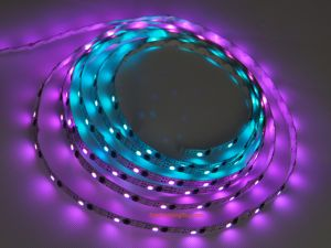 16.4Ft WS2811(256 scale) Magic RGB LED Strip ,DC5V input, 160 LEDs