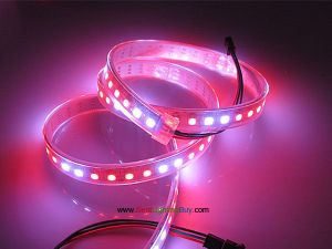 WS2812B Digital Addressable RGB LED Strip, 96 LED/M, DC5V, Sold by Meter