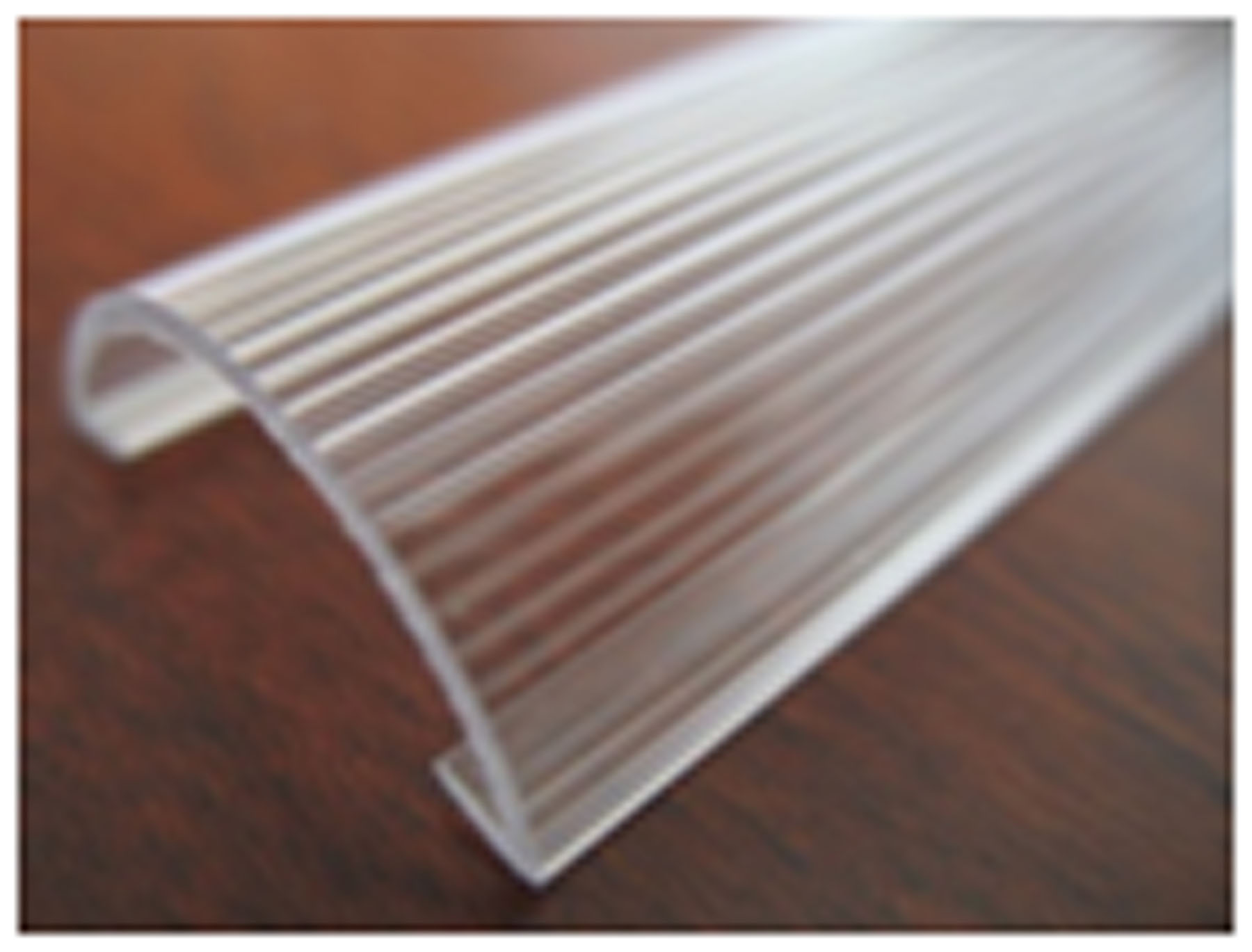 LED tube light stripe cover, with a little soft light than clear cover, the transmittance is about 90%.